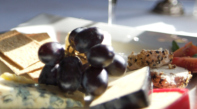 Grapes, Cheese and Biscuits